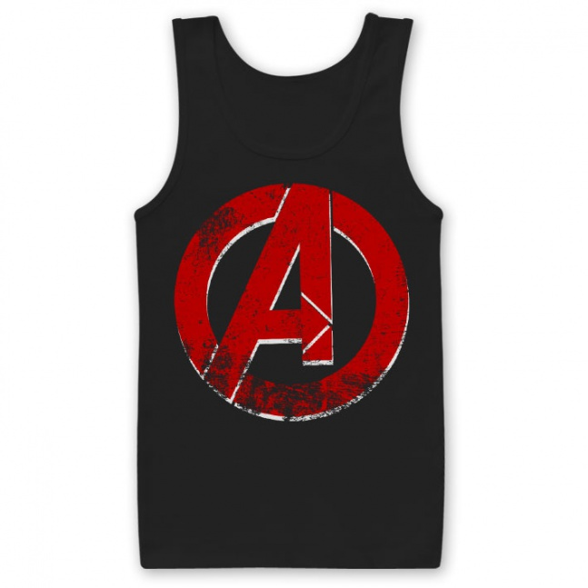 Koszulka The Avengers Distressed A Logo Tank Top