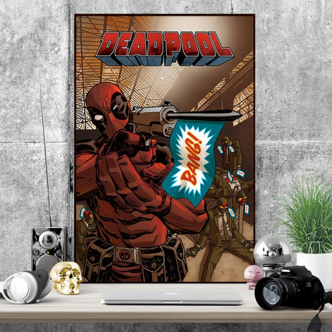 Plakat Deadpool Bang