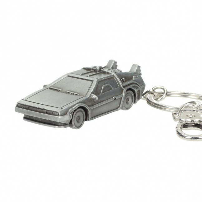 Brelok Back to the Future DeLorean Metal