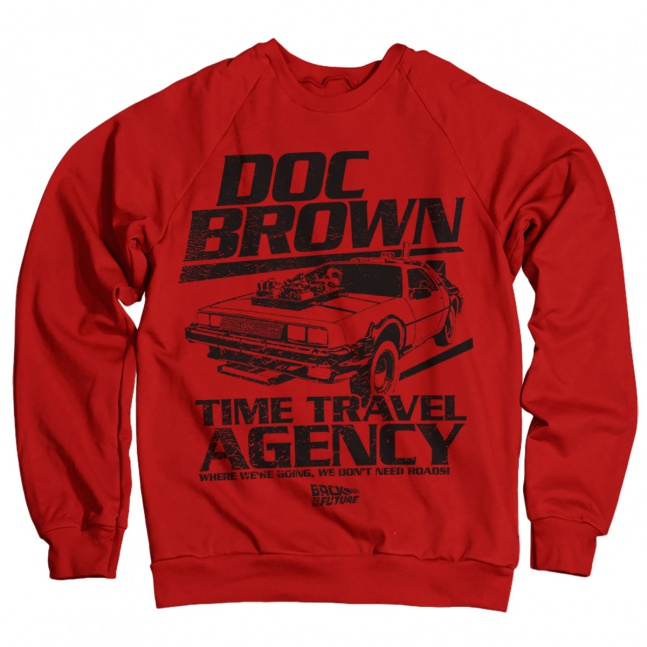 Bluza Doc Brown Time Travel Agency