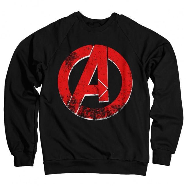 Bluza The Avengers Distressed A Logo
