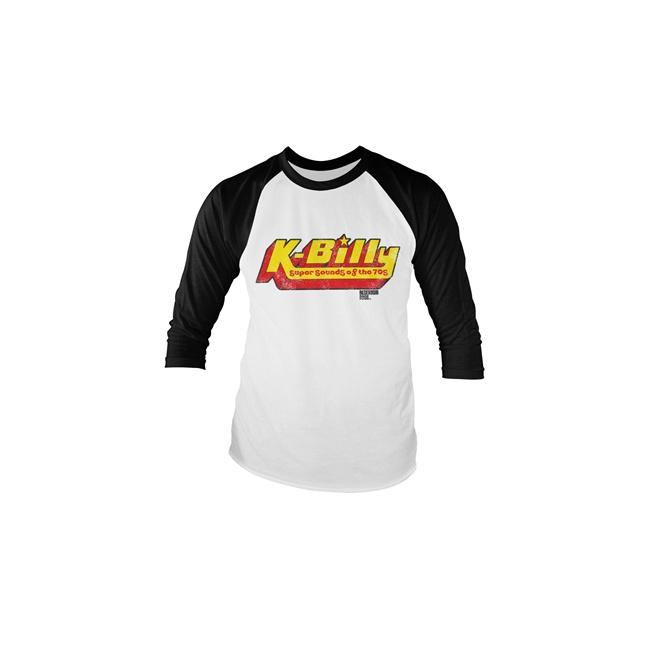 K-Billy - Sounds Of The 70s Baseball LS Tee