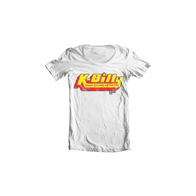 K-Billy - Sounds Of The 70s Wide Neck Tee