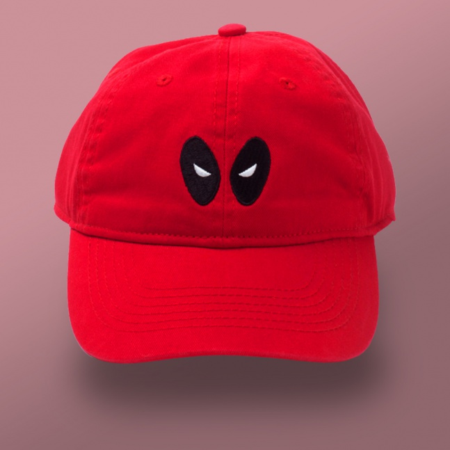 Czapka Deadpool Eyes Dad Cap