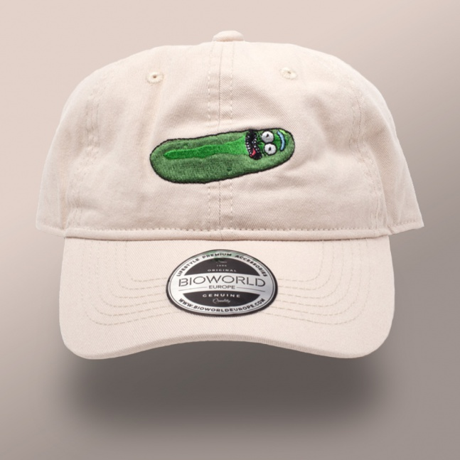 Czapka Rick and Morty Pickle Rick Dad Cap