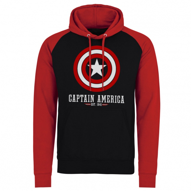 Bluza Captain America Shield Baseball