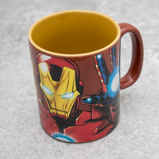 Duży kubek Marvel Iron Man Foil