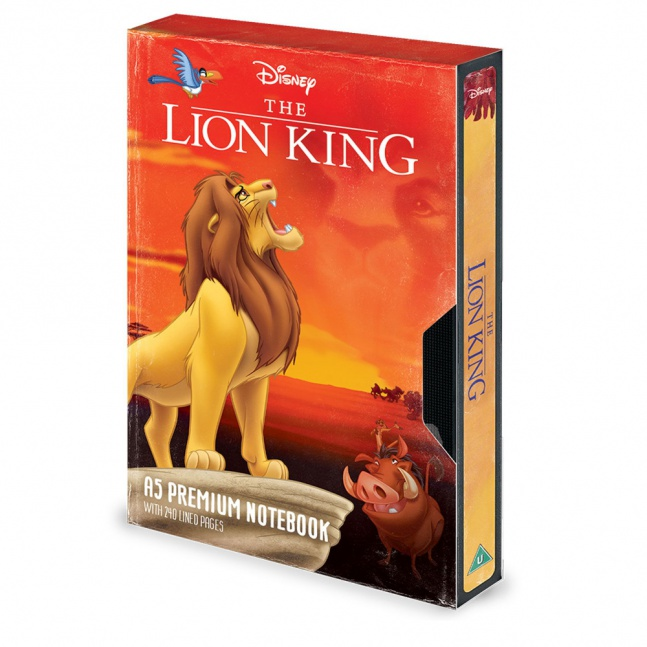 Notes Lion King Król Lew Kaseta VHS