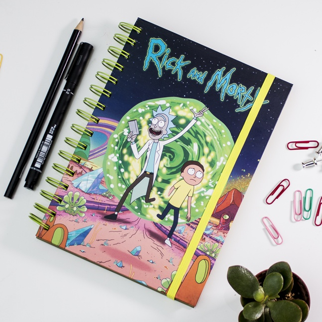 Notes Rick and Morty Portal