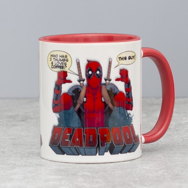 Kubek Deadpool Thumbs