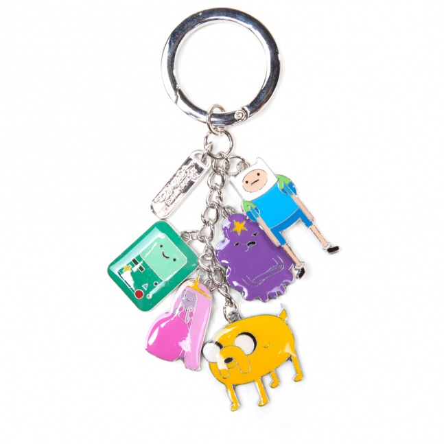 Metalowy brelok Adventure Time Charms
