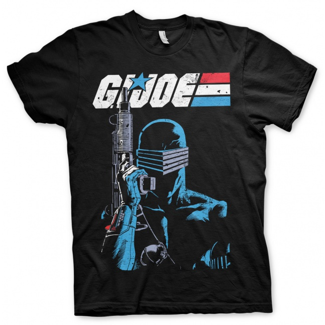 Koszulka G.I. Joe Snake Eyes Distressed