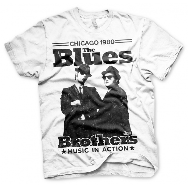 Koszulka Blues Brothers Chicago 1980