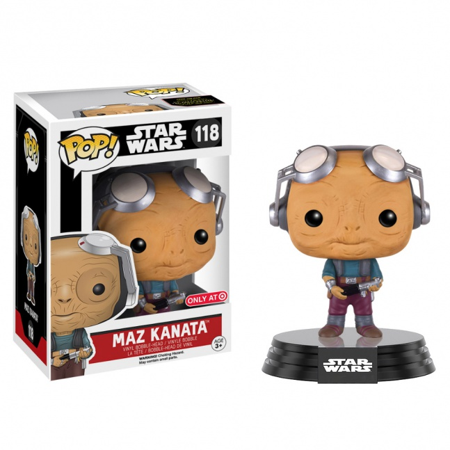 Figurka Funko POP! Star Wars VII Maz Kanata Limited