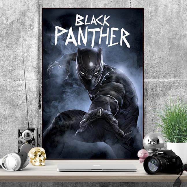 Plakat Captain America Civil War Black Panther