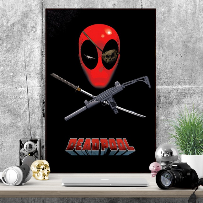 Plakat Deadpool opaska