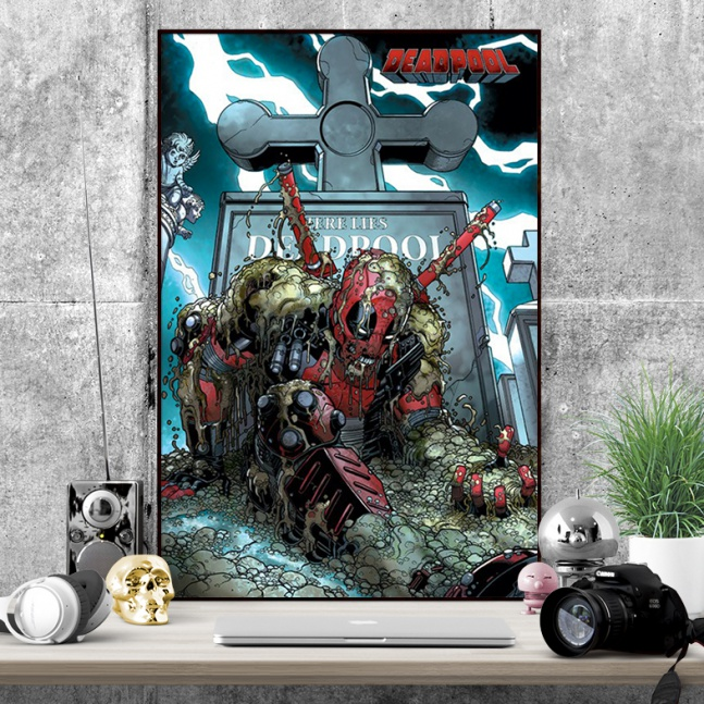 Plakat Deadpool Grób