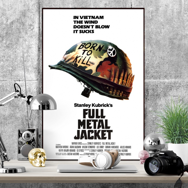 Plakat Full Metal Jacket