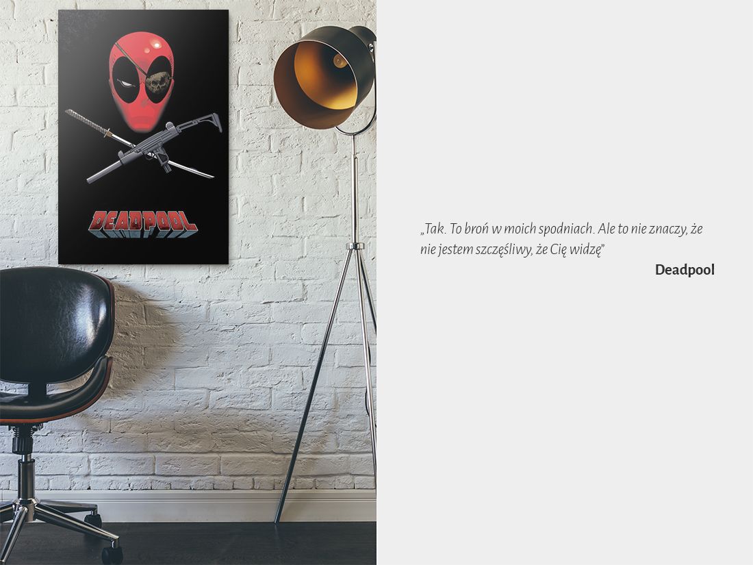 plakat deadpool