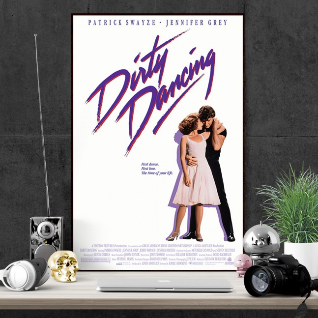 Plakat Dirty Dancing The Time of My Life