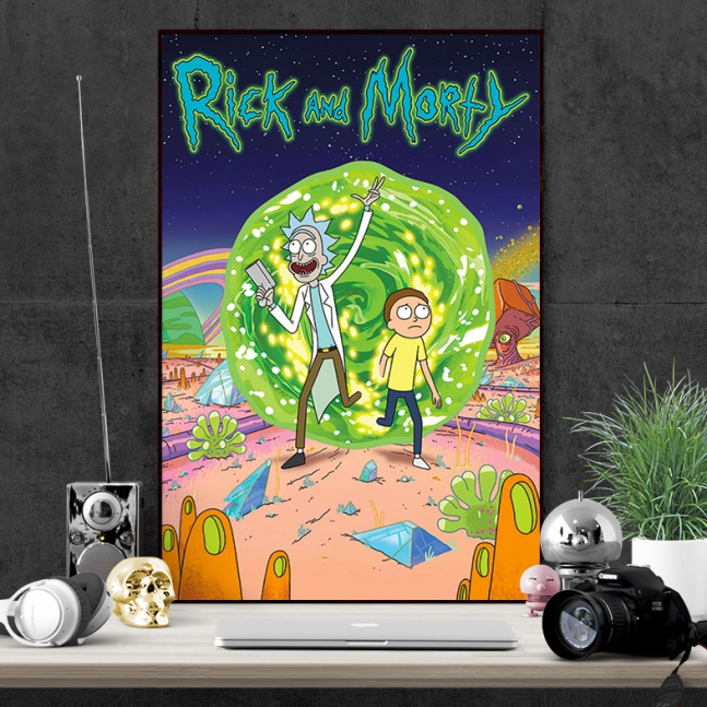 Plakat Rick and Morty Portal