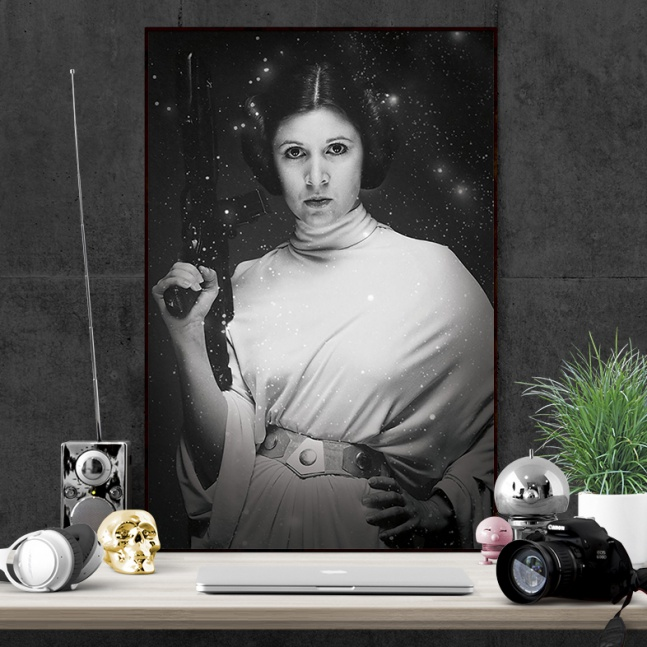 Plakat Star Wars Leia