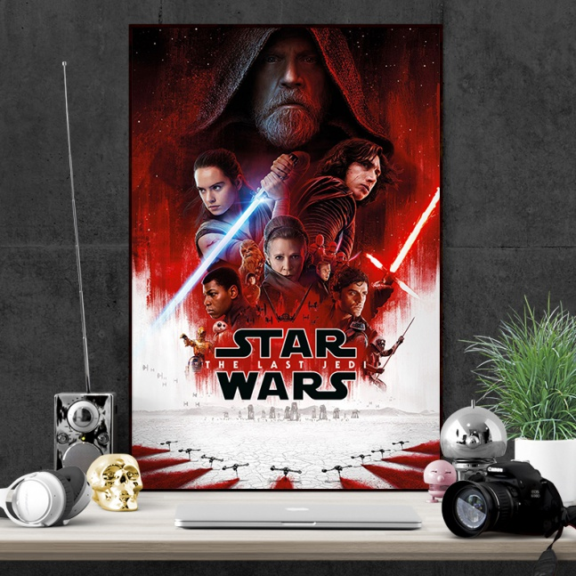 Plakat Star Wars Last Jedi Full
