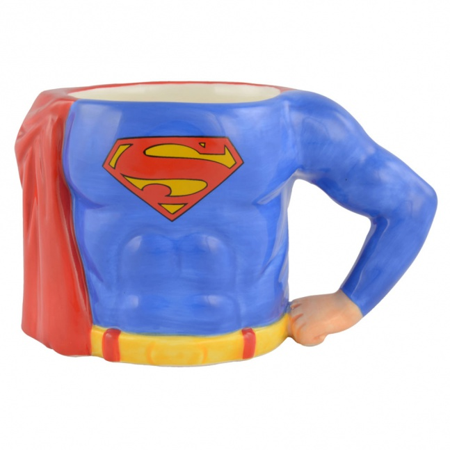 Kubek Superman 3D Tors
