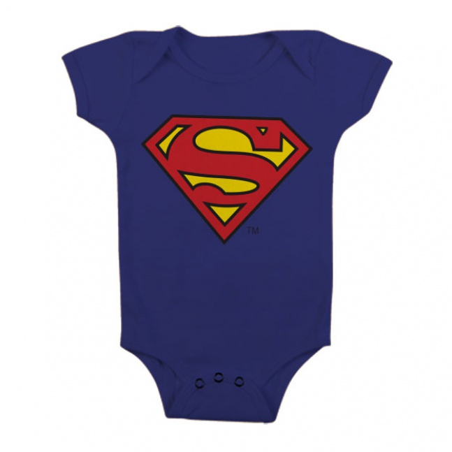 Body dziecka Superman Shield