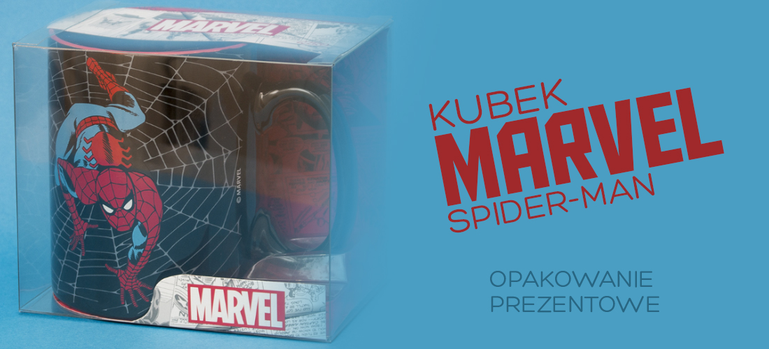kubek marvel spiderman