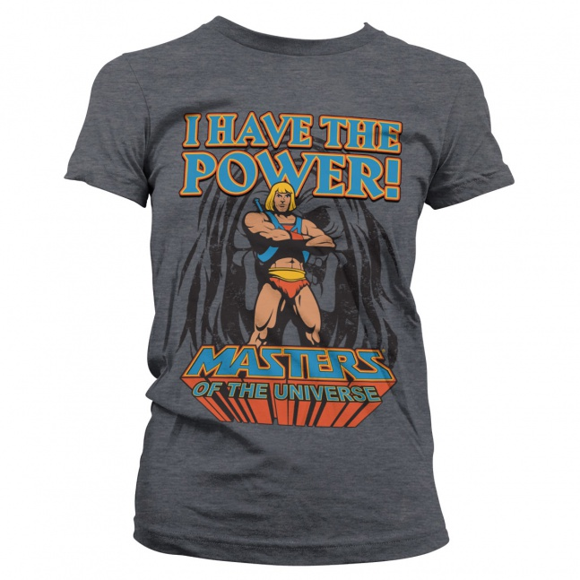 Koszulka He-Man Masters of the Universe damska The Power