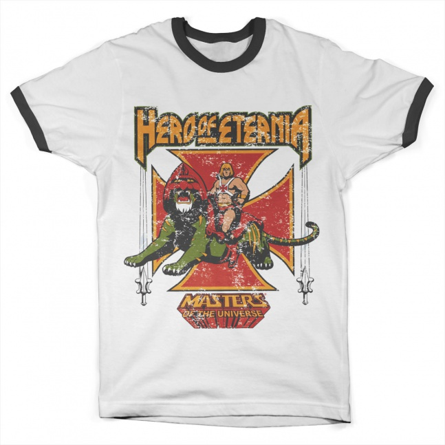Koszulka Masters of the Universe Eternia Ringer Tee