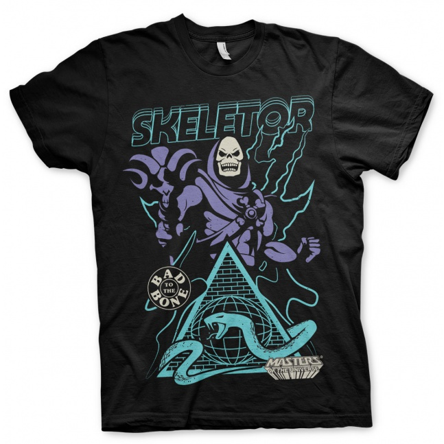 Koszulka Masters of the Universe Skeletor Bad to the Bone