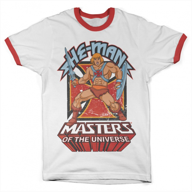 Koszulka Masters of the Universe He-Man Ringer