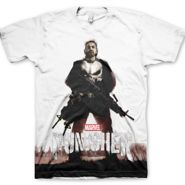 Koszulka Marvel's The Punisher Allover