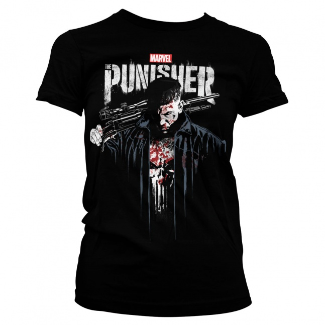 Koszulka damska Marvel's The Punisher Blood