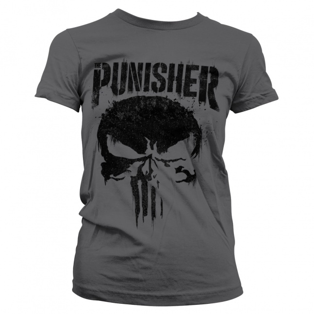 Koszulka damska Marvel's The Punisher Big Skull