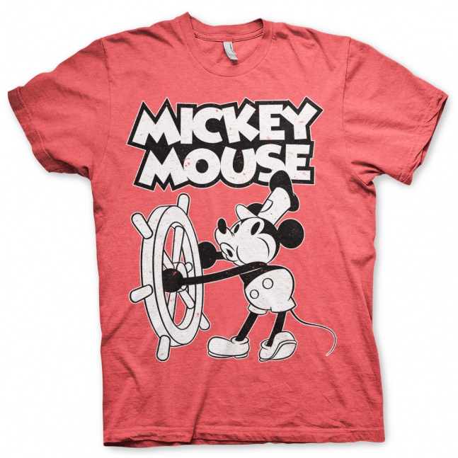 Koszulka Disney Mickey Mouse - Steamboat Willie