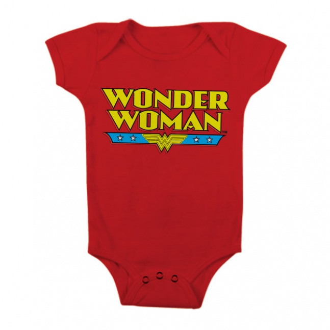 Body dziecka Wonder Woman Logo